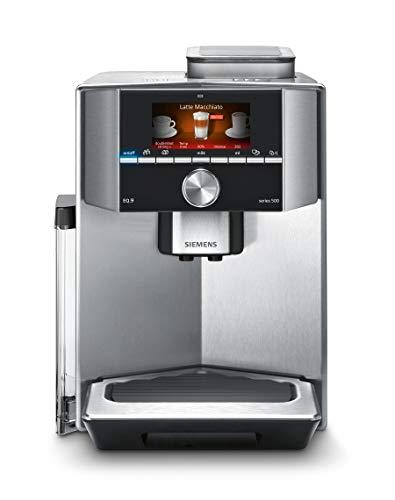 Siemens TI905201RW - Cafetera (Independiente, Máquina espresso, 2,3 L, Molinillo integrado, 1500 W, Acero inoxidable)