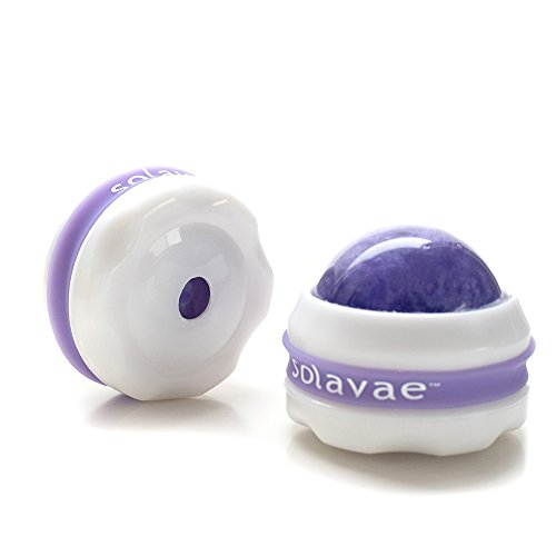 Deluxe Massage Ball (Solavae Deluxe Massage Ball Rollers Set of 2 Massage Therapy Tools(Purple) for Essential/Massage Oils and Lotion)