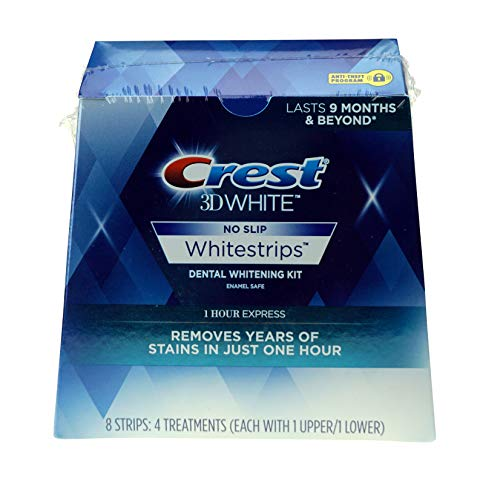 Crest 3d White 1-Hour Express Teeth Whitening Kit, 8 Strips (4 treatments) ()