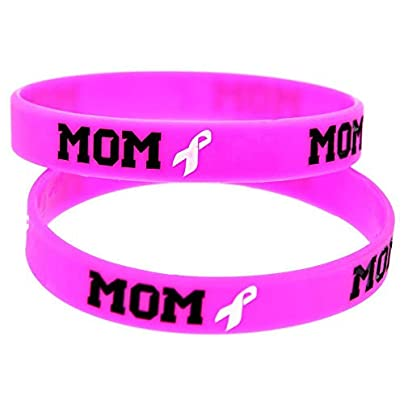 Wristbands Silicone Wristbands with Sayings Ribbon Mom Soft Silicone Bracelets for Women and Girls Set Pieces Estimated Price £19.13 -