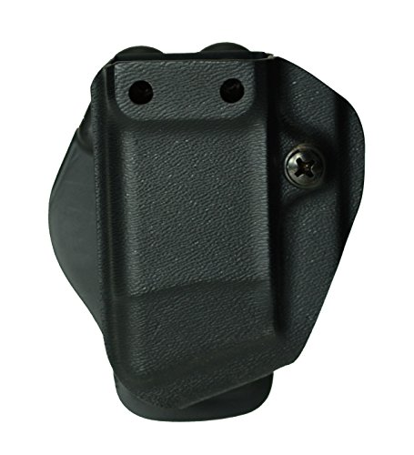 G-Code Pistol Single Magazine Carrier Kydex with Cobra Paddle (Black, Glock Double Stack (Kydex Single)