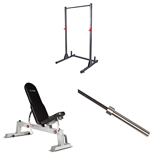 Cap Barbell Power Rack Exercise Stand Barbell Academy