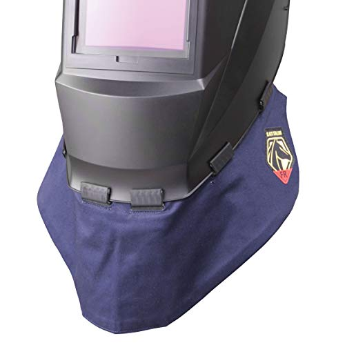 Black Stallion AH2140-NS FR Wraparound Helmet Bib (Best Pipe Welding Helmet)