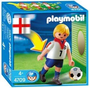 PLAYMOBIL  Football figure England dp BEQEJS
