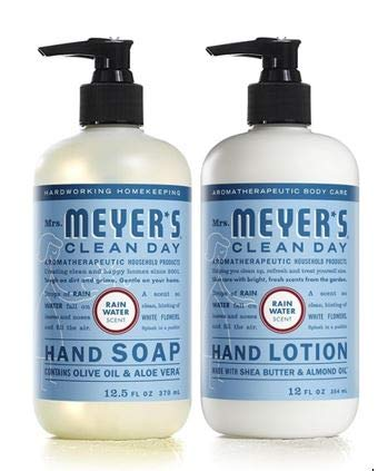 (Mrs. Meyer's Clean Day Rain Water Hand Care Duo)
