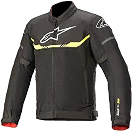 Alpinestars T-SP S AIR JACKET: BLK YEL FL: M