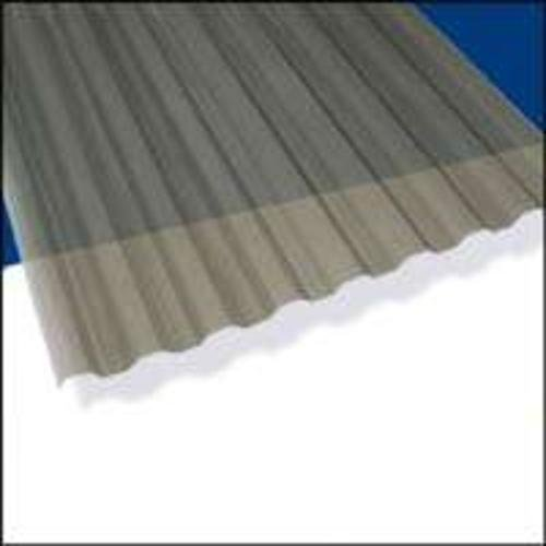 (Suntuff 101931 Translucent Corrugated Panel 26 in W x 12 ft L Gray Polycarbonate - Case of 10)