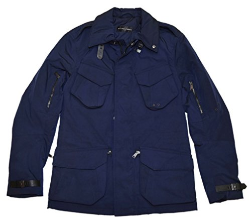 Polo Black Label (RALPH LAUREN Polo Black Label Men Cargo Utility Jacket Car Coat Navy Italy Small)