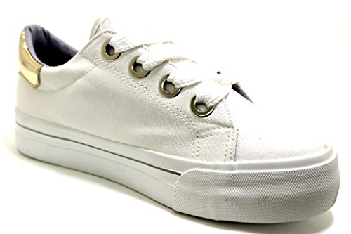 Tamaris Chaussures de Ville à Lacets Pour Femme Weiß