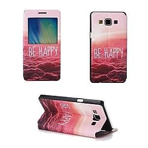 GX Teléfono Móvil Samsung - Carcasas de Cuerpo Completo - Diseño Especial - para Samsung Galaxia A7 Cuero PU/TPU )
