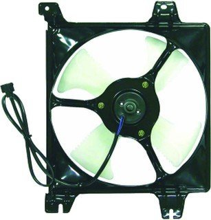QP MG300-a Mitsubishi Galant Replacement AC A/C Condenser Cooling Fan/Shroud Assembly