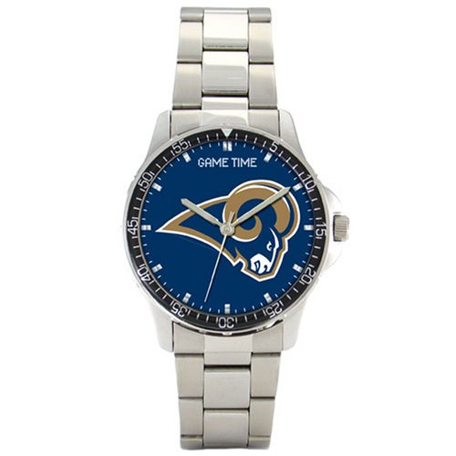 NFL Men's FC-STL St.Louis Rams Coach Series Watch by Game Time
