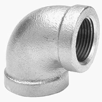 """150 psi 3/"""" Galvanized Cap pipe fitting NPT"""