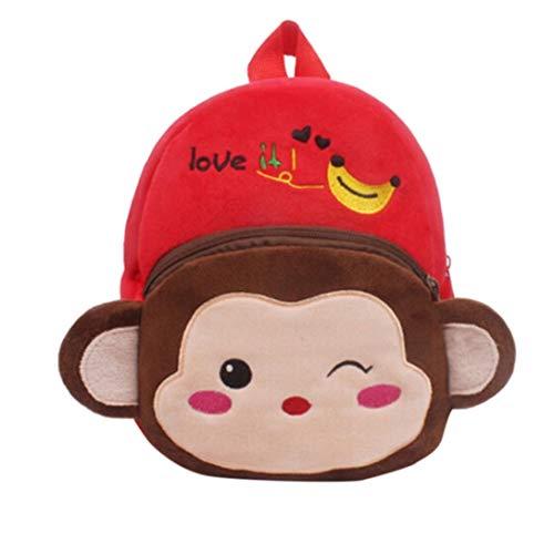 Toddler Monkey Animal Baby Girls Cute squarex K Boys Bag Bag School Backpack Cartoon WwqwUH86