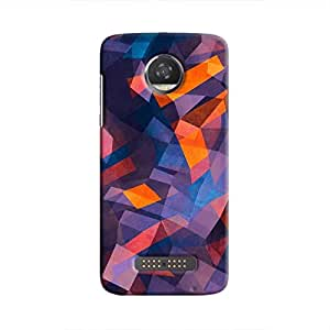 Cover It Up - Rectangle Mountain Moto Z2 PlayHard Case