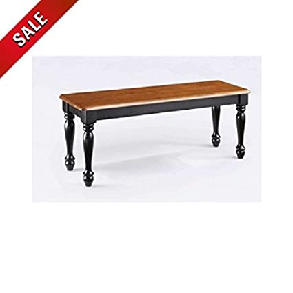 Amazon.com - Rustic Dining Bench Wood Dining Bench Seat ...