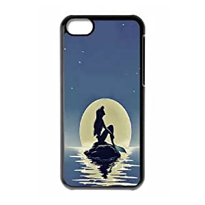 Custom LiuXueFei Phone caseMermaid And Ocean Pattern For Iphone 4 4S case cover -Style-11
