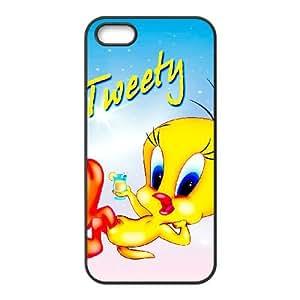 Tweety Bird iPhone 4 4s Cell Phone Case Black Delicate gift JIS_234849