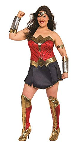 Rubie's Wonder Woman Adult Deluxe Costume, Plus Size -