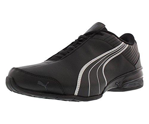 PUMA Men's Super Elevate Sneaker, Puma Black-Dark Shadow-Puma Silver, 10 M US (Shadow Dark Black Puma)