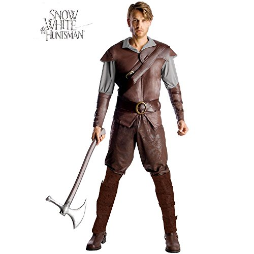 Huntsman Adult Costumes (Snow White and The Huntsman Costume, Brown, Standard)