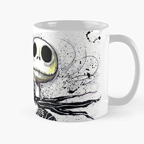 The Nightmare Before Christmas Jack And Sally Zero Skellington Bestes 11 Unze-Keramik-Kaffeetasse Geschenk