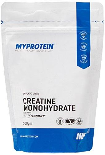 Myprotein Creatine Creapure Unflavoured, 1er Pack (1 x 500 g)