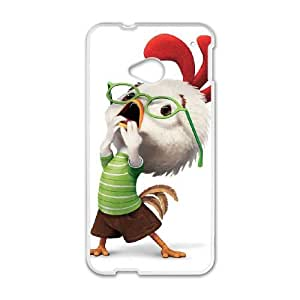 HTC One M7 Cell Phone Case White Disney Chicken Little Character Chicken Little hmxa