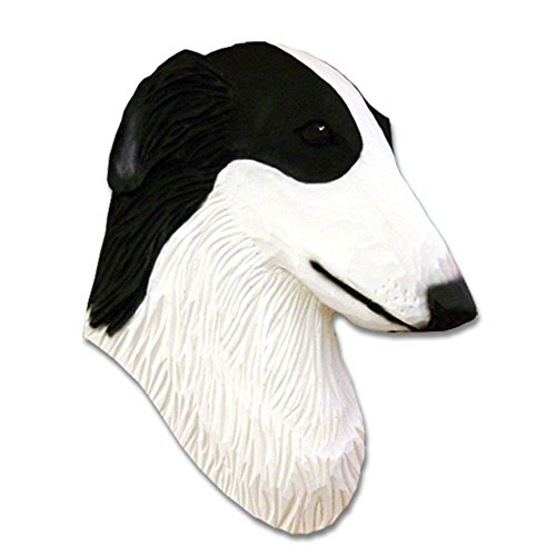 Borzoi Figurine (Borzoi Head Plaque Figurine Bi)