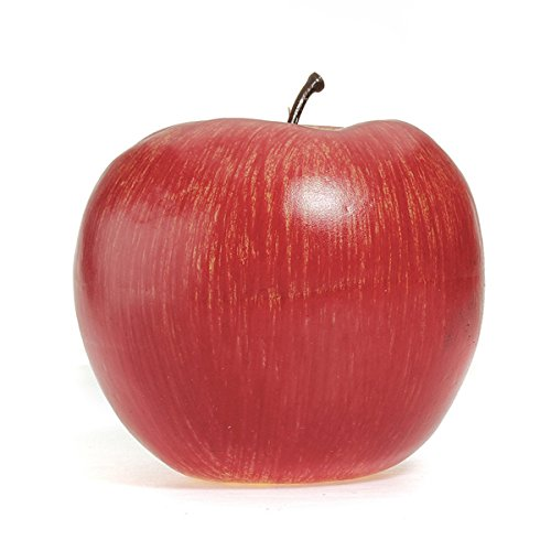 Decorative Crafts - Artificial Apple Home Party Decorative Fake Red Green Apples Fruit Vegetable - Artificial Apples For Decoration Red Real Size Mini Prime Plastic Decorative Fruit Faux - 1PCs