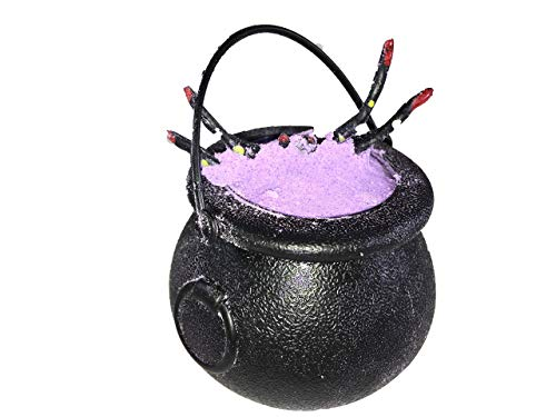 Halloween Bath Bombs Witches Brew Cauldron LAVENDER Fizzy and Bubble 7 oz Bath Bombs with Surprise Scary Toys Inside For Kids Halloween Gift