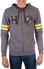 Harry Potter Hufflepuff Men's House Varsity Zip Up Ho