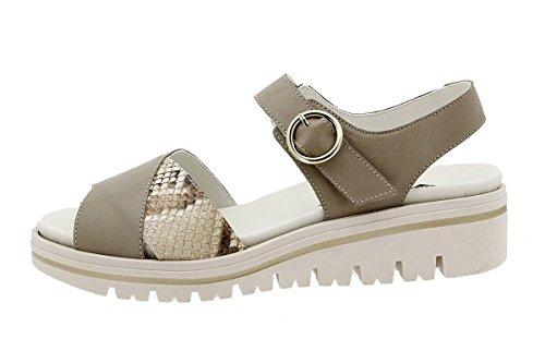 Plantilla Piesanto Confort 180778 Visón Zapato Piel Sandalia Extraíble aqPwXx1Wd