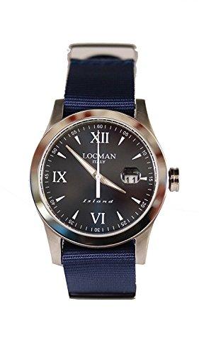LOCMAN watch ISLAND 0614A02-00BLWHNB Men's