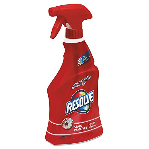 RESOLVE Triple Oxi Advanced Trigger Carpet Cleaner, 22 oz Bottle