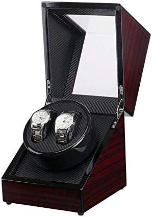 2つの腕時計のための静かなモーター二重自動腕時計箱が付いている自動腕時計の巻取り機