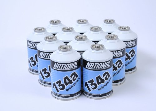 One Case - 12 Cans of R134A Refrigerant for Automotive Systems by MrZAccessories (Image #1)
