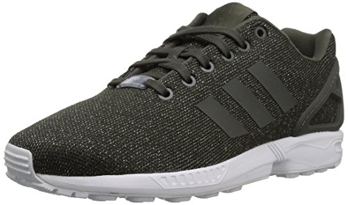 ZX Running Utility Shoe Metallic Women's Black adidas Utility Silver Grey Originals W Flux wZqHypxX