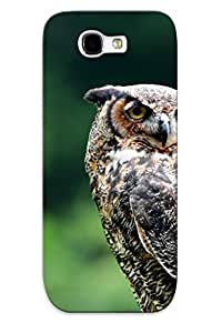Ellent Design The Wise Owl Phone Case For Galaxy Note 2 Premium Tpu Case For Thanksgiving Day's Gift