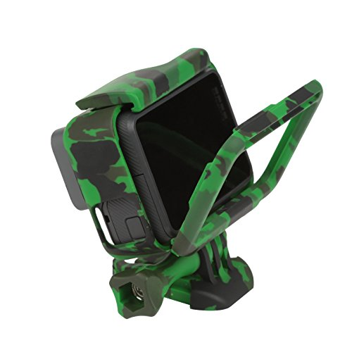 D&F Protective Housing Camouflage Standard Case Border Frame for GoPro Hero 5 / Hero 6 (Hero Camouflage)