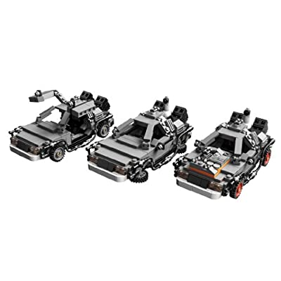 LEGO The DeLorean Time Machine Building Set 21103 (Discontinued by manufacturer): Toys & Games