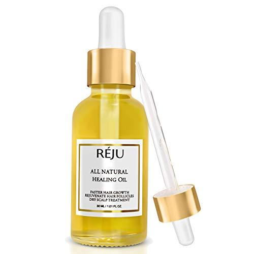 Natural Hair Growth Oil - POTENT Hair Growth Serum, Hair Loss Thinning Treatment, Hair Growth Treatment Oil (1.01 FL Oz)