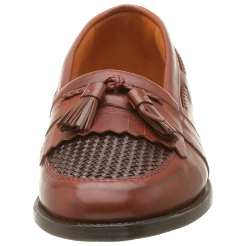 Allen Edmonds Hombres Cody Tassel Loafer, Chili / Weave, 9 B