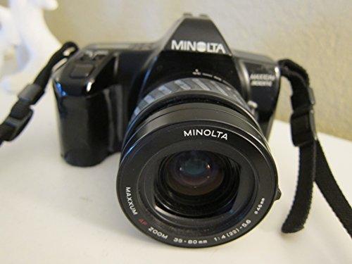 Minolta Maxxum 3000i 35mm SLR Camera 35-80mm f/4.5-5.6 AF Lens