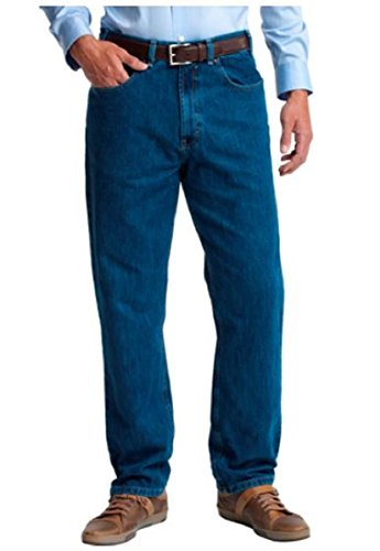 Kirkland SignatureTM Authentic Jeans Wear Men's 5-Pocket Blue Jean (48W x 30L