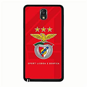 Bonzer Designed Sports Lisboe Benfico Logo Cell Phone Case Hard Enrichment Sports Lisboe Benfico Printing Phone Case Snap on Samsung Galaxy Note 3 N9005