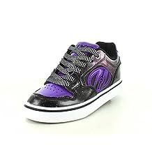 Heelys Motion Plus - Black/Purple/Galaxy Kids Heelys - Ships from Canada