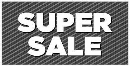 24x12 Stripes Gray Window Cling CGSignLab Super Sale 5-Pack