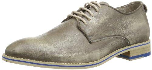NOBRAND Schnabel - Zapatos de cordones derby Hombre Gris (Grau (caribou 02))