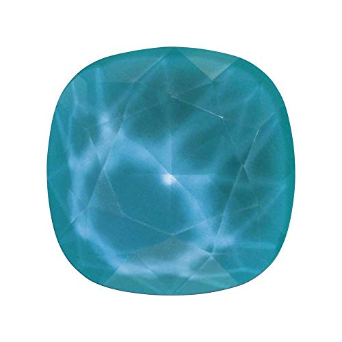 (Swarovski Crystal, 4470 Cushion Fancy Stone 10mm, 1 Piece, Crystal Azure Blue)